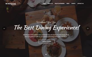 Warehouse web design portfolio