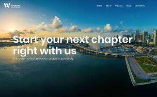 Worthy web design portfolio