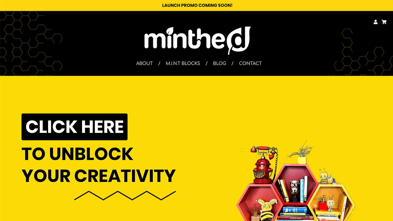 Minthed web design