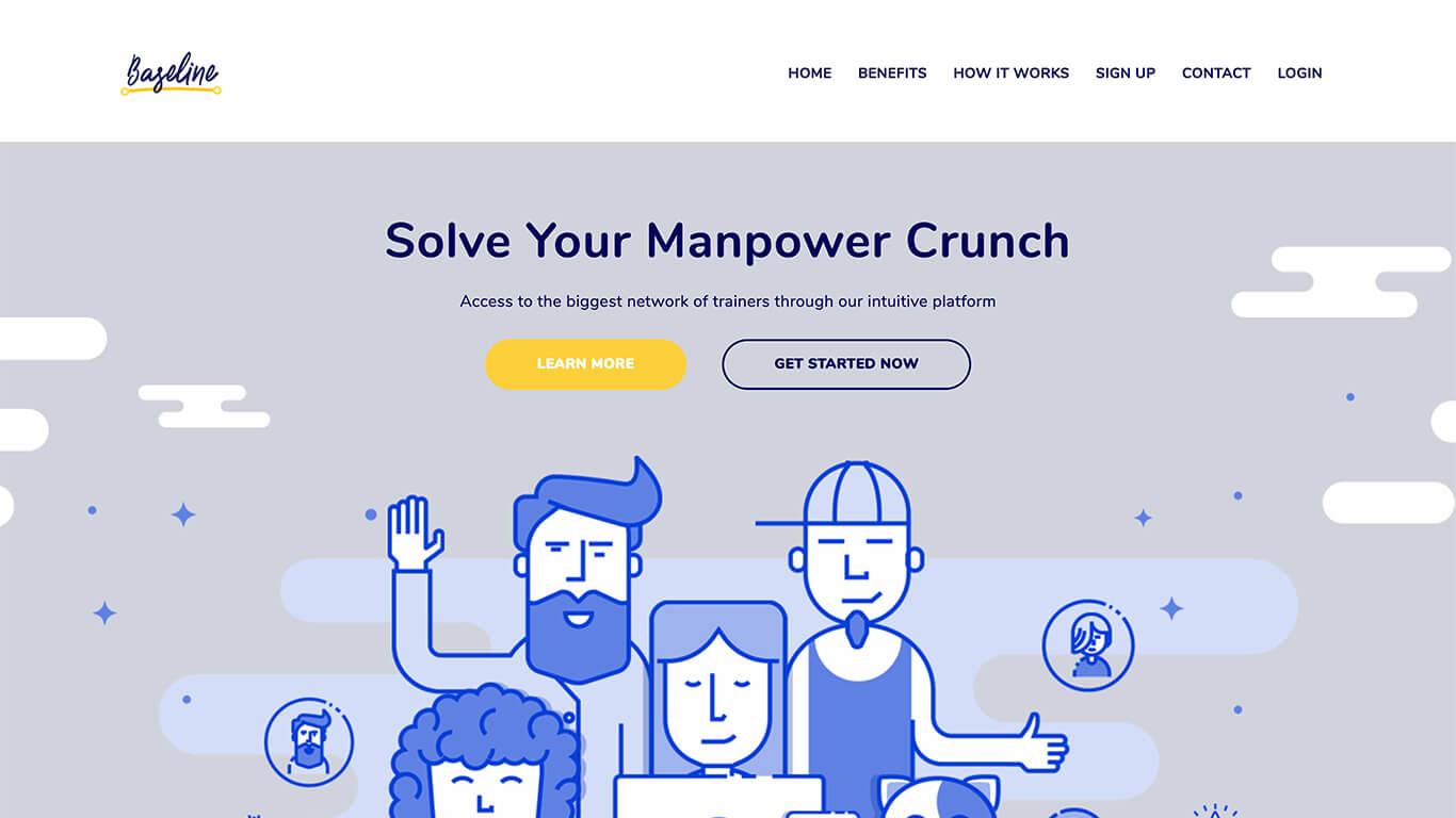 Baseline web design