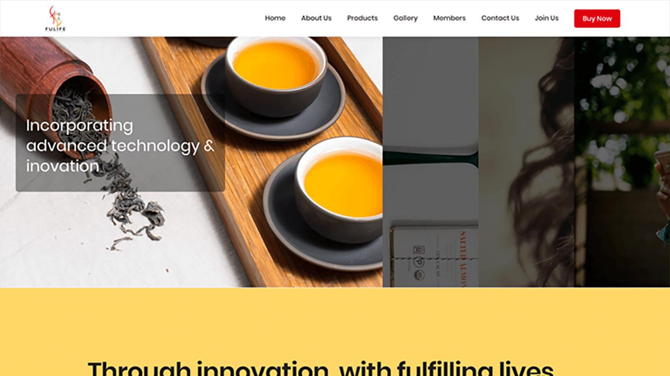 Fulife web design