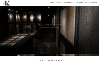 Portfolio Website Design KStone