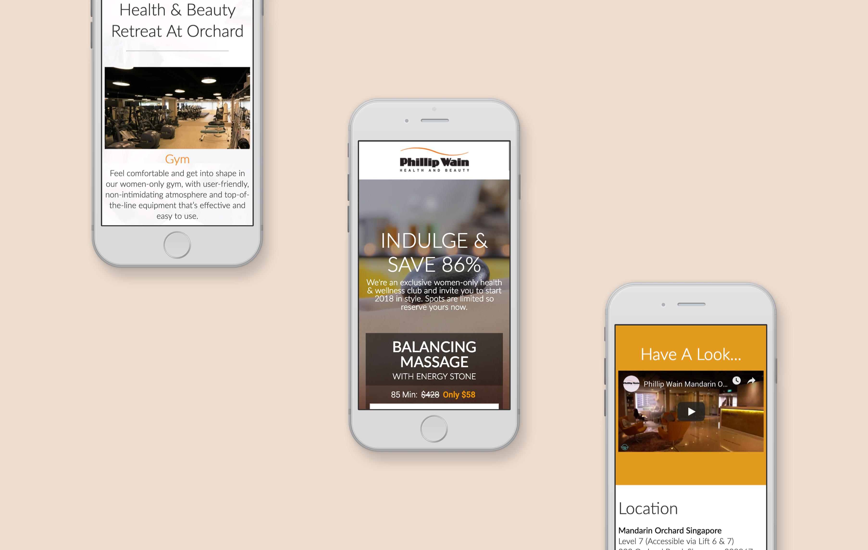 Philip Wain mobile web design development